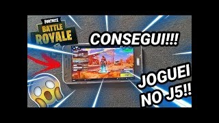 RUN!!! PLAYED FORTNITE At J5 (ANY PHONE) On ANDROID-CHALLENGE For HATERA!!!