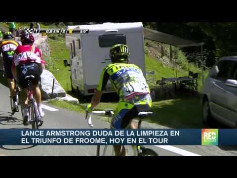 Triunfo de Froome en primera etapa de alta montaña del Tour de Francia