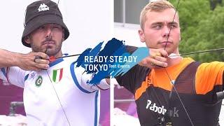 Mauro Nespoli v Steve Wijler – recurve men 2nd round | Tokyo 2020 Olympic Test