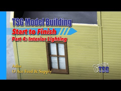 O Scale Atlas Feed Store Model Building 4 of 8 MBSTF
