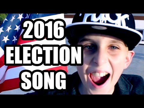 HILLARY VS TRUMP?!?! SONG by MISHA (FOR KIDS)