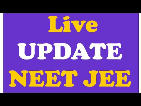 LIVE HEARNING NEET JEE Postpone Review Petition  Supreme Court Neet 2020 Latest News