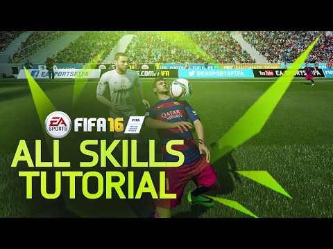 FIFA 16 ALL SKILLS TUTORIAL + Secret Skill Moves & New Skills / XBOX & Playstation
