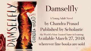 New DAMSELFLY book trailer is here!