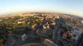 Колизей в Риме. С высоты птичьего полета!