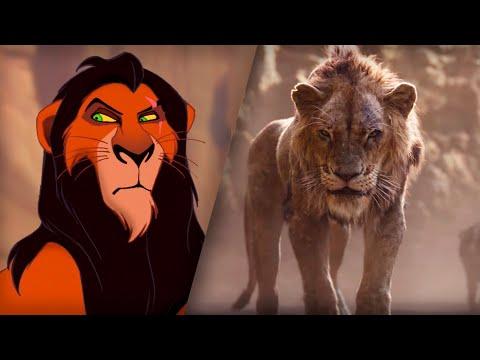 Король Лев (1994/2019) | Сравнение | Трейлер