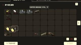 Team fortress 2 Glitch: Glitch in the crafting scren