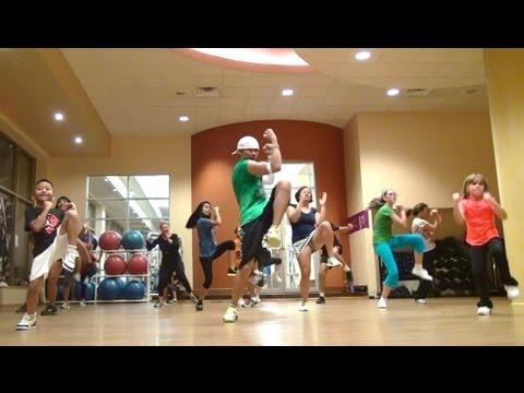 "Slinky Dance Fitness - ""Rock the Boat"" by Bob Sinclar - 2nd Warm-Up - EASY - HI-energy"