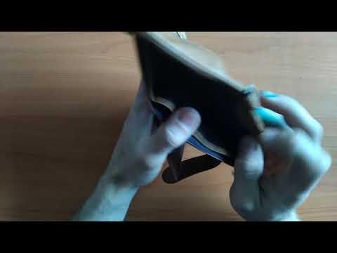 Женский кошелек из натуральной кожи KAVIS Rfid