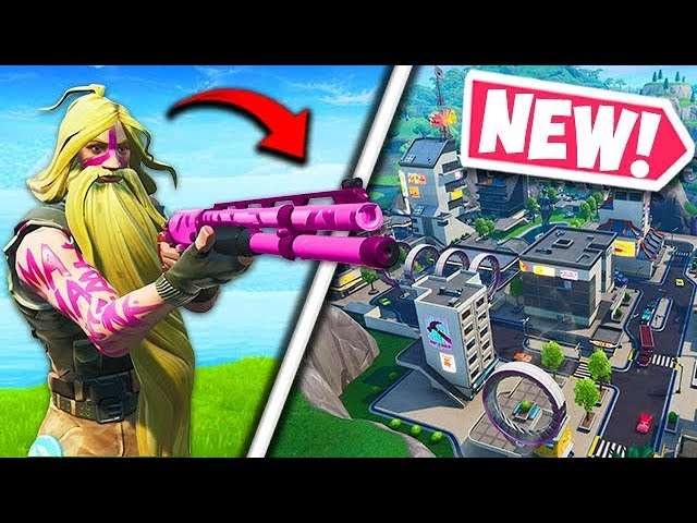 * NEU * COMBAT SHOTGUN & TILTED TOWERS! - Fortnite Funny Fails und WTF Moments! # 552 + video