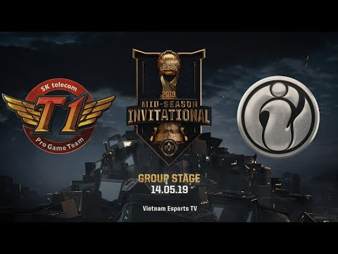 SKT vs IG [HighLights MSI 2019] [14.05.2019] [Group Stage]