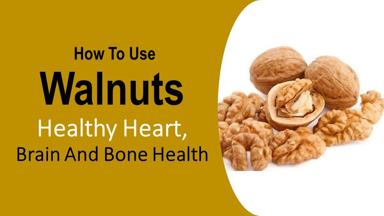 What is the use of walnuts