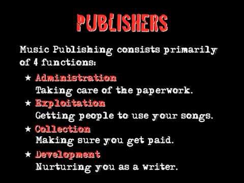 Music Publishing 3 Publishers