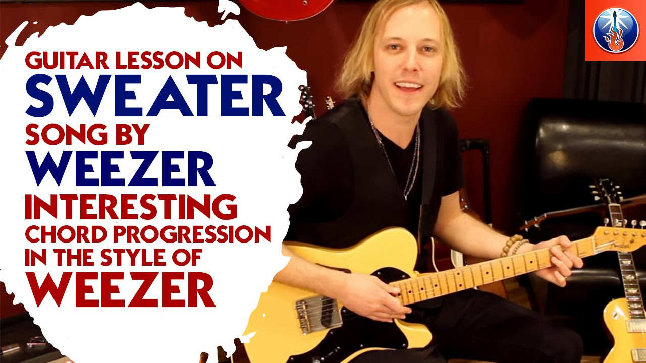 Weezer Sweater Song Chords Lesson On How To Play Undone The