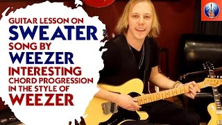 Weezer Sweater Song Chords - Lesson On How to Play Undone The Sweater Song Chords