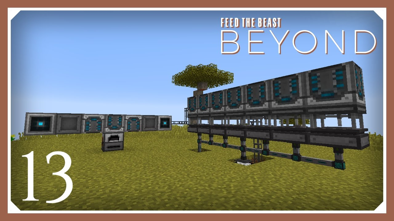 FTB Beyond | Automating Refined Storage! | E13 (Modded Minecraft 1 10 2  Survival Let's Play)