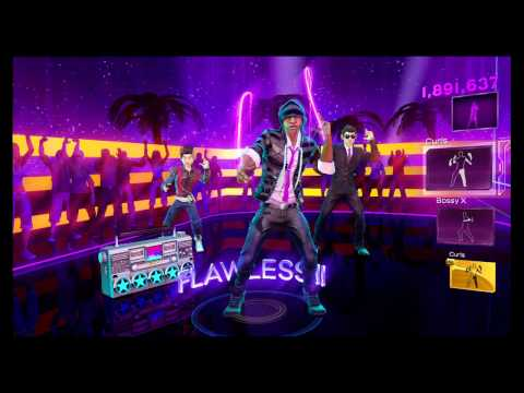 Dance Central 3 - Wild Ones (Hard) - Flo Rida ft. Sia - Gold Stars
