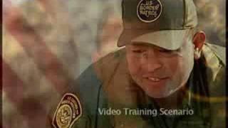 Border Patrol training video