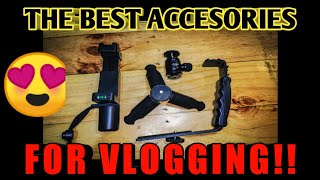 Gambar cover Ballmount, F-mount, L-bracket for Vlogging Unboxing! Cheap accesories from SHOPEE!