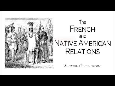 The French And Native American Relations | AF-228