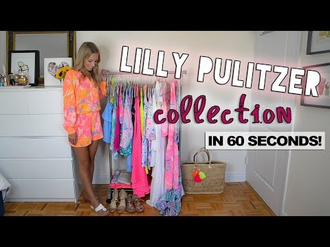 LILLY PULITZER COLLECTION IN 60 SECONDS