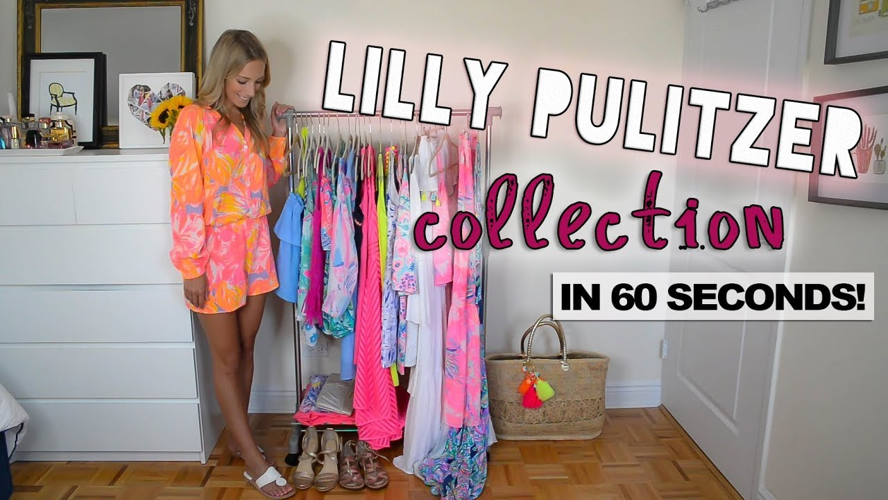 LILLY PULITZER COLLECTION IN 60 SECONDS ...