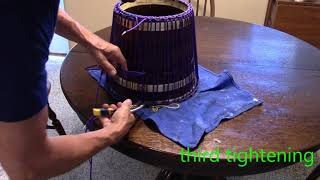 How to Lace a Drum, Djembe