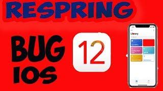 iPhone X Bloqué Bug iOS 12 Comment Restaurer Débloqué Grâce Au Respring Redémarrer Votre iPhone !!!