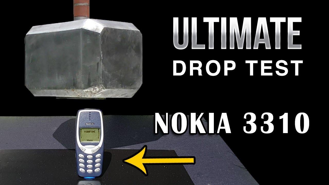 91lb thor hammer v nokia 3310 episode 5 ultimate drop test