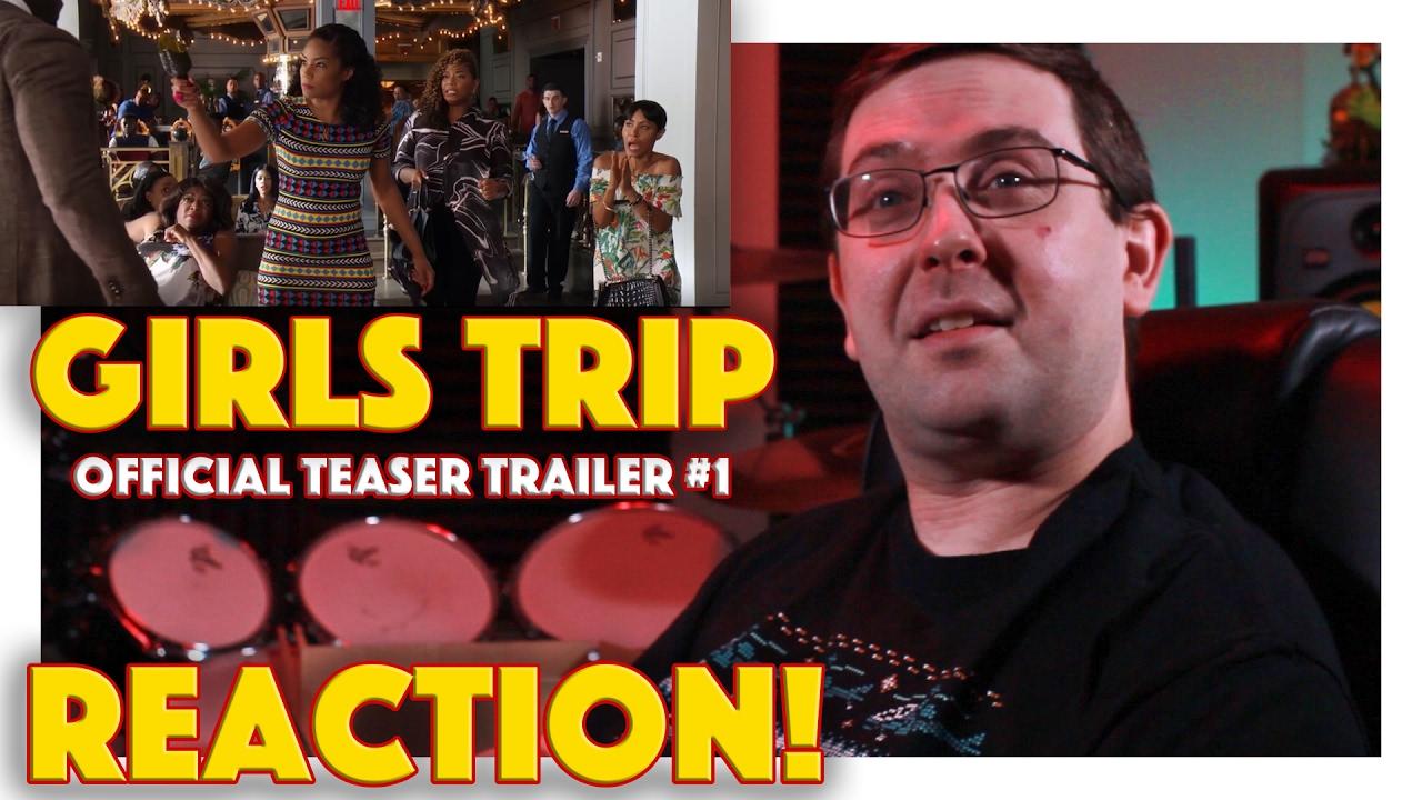 Download REACTION! Girls Trip Official Teaser Trailer #1 - Jada Pinkett Smith Movie 2017