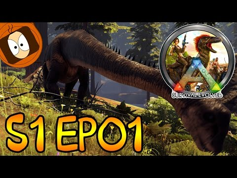 ARK COOP | JURASSIC ARK SUR THE CENTER ! | S01-EP01