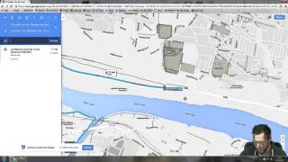 How To Plan a Cycling Route Using Google Maps Free HD Video