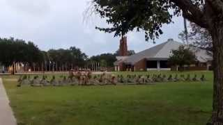 Marine Close Order Drill at Parris Island, SC