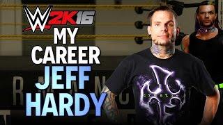 WWE 2K16: My CAREER - Jeff Hardy - 1 (TRAINING)