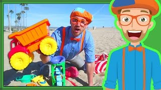 Download Blippi Videos for Kids | Playing with Sand Toys and More!  30 Mins Mp3 and Videos
