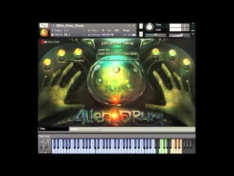 8Dio New Alien Drum (aka Hang Drum)
