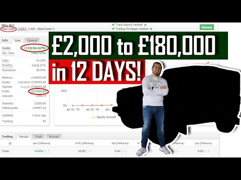 From £2000 To £180000 In 12 DAYS! CHALLENGE COMPLETE