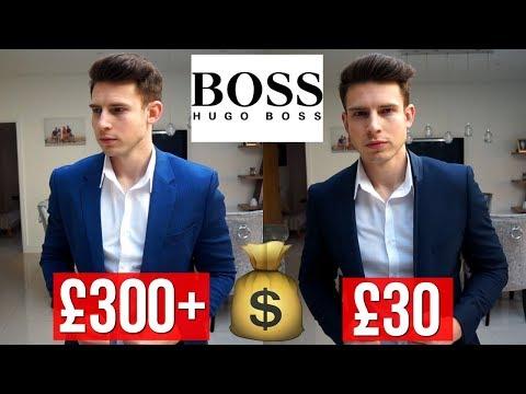Is Designer Clothing Worth The Price? (Hugo Boss Vs. Topman)