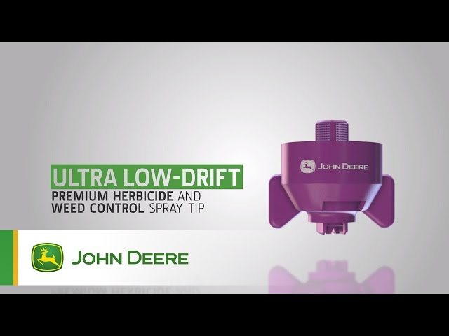 John Deere Sprayer Nozzles: Ultra Low-Drift