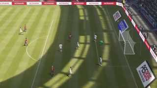 PES2015 United States - Germany 3-0 in 30 minutes