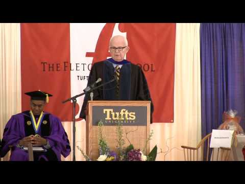 The Fletcher School: Class Day 2013 Dean's Greeting