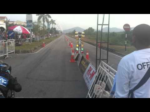 MUSC Drag Race Sg Petani 2011 -  Final 4T125CC Open.MOV