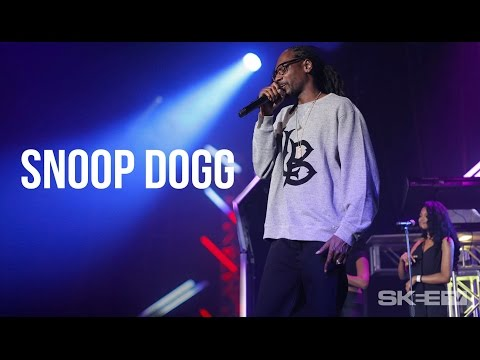 "Snoop Dogg ""I'm From Long Beach"" LIVE on SKEE TV"