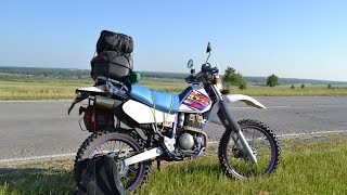Yamaha TTR-250  и IRBIS TTR125 с широким колесом(, 2015-09-06T17:19:25.000Z)