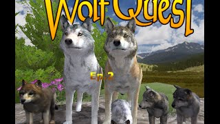 WolfQuest 2.7 Demo Ep.2 - First Death