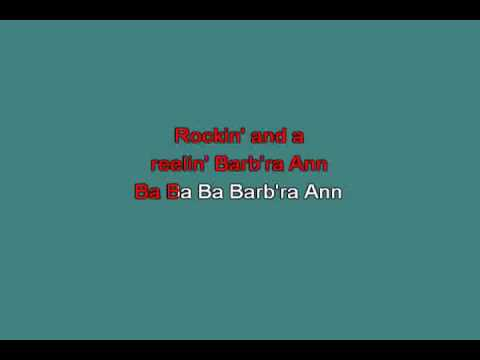 BARBARA ANN 218503 [karaoke]