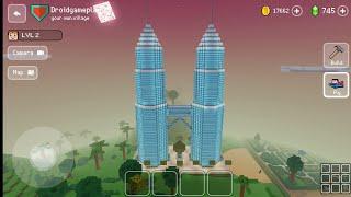 Petronas Twin Towers - Block Craft 3d: Building Simulator Games for Free screenshot 1