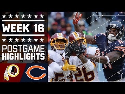 Redskins vs. Bears | NFL Week 16 Game Highlights