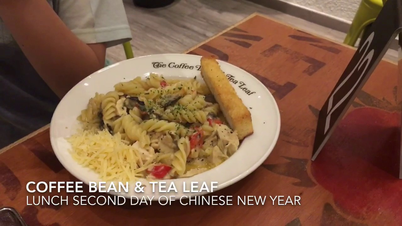 Coffee Bean Lunch All Day Breakfast Chinese New Year 2