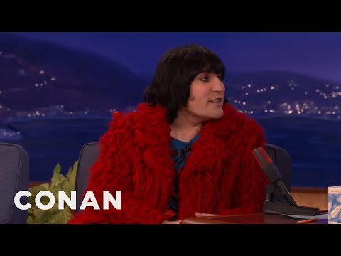 Noel Fielding Got Drunk & Worked In A Vintage Shop  - CONAN on TBS